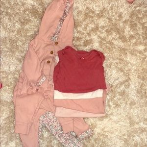 Bundle of matching clothes